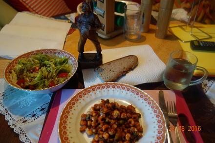 Flußkrebse als Abendessen; - Rezept - Bild Nr. 858