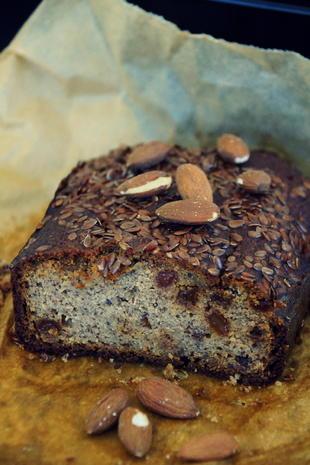 Kuchen: Glutenfreies Mandel-Bananen-Brot - Rezept