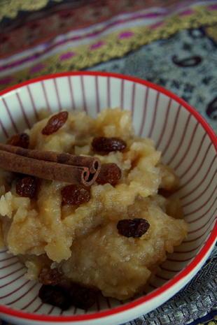 Süßspeise: Stückiges Apfelmus mit Zimt und Vanille - Rezept