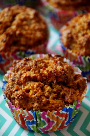 Gesunde Apfel Karotten Muffins Rezept Kochbar De