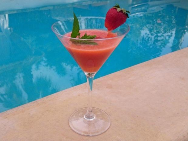 Erdbeer-Daiquiri - Rezept