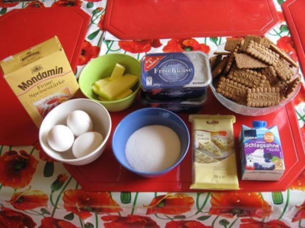 Frischkase Kuchen Mit Keksboden Rezept Kochbar De