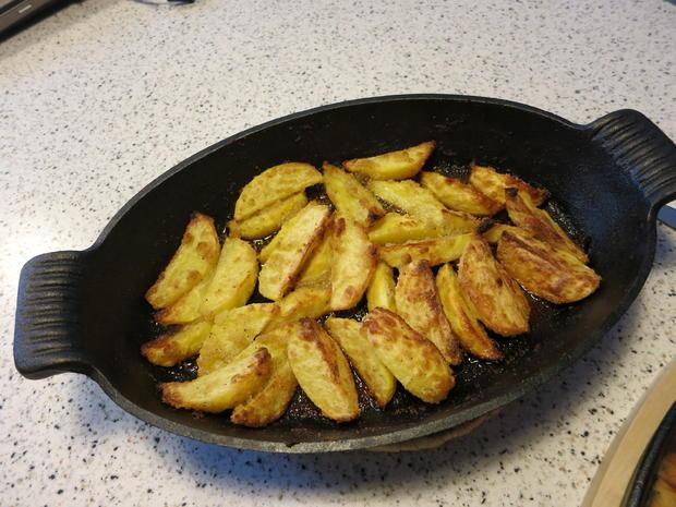Knusprige Knoblauch-Kartoffeln - Rezept - Bild Nr. 2068