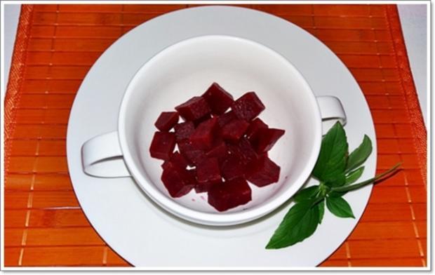 Pikante Rote-Bete-Suppe auf Rindfleischbrühe - Rezept - Bild Nr. 301