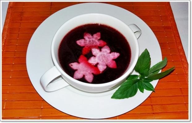 Pikante Rote-Bete-Suppe auf Rindfleischbrühe - Rezept - Bild Nr. 302