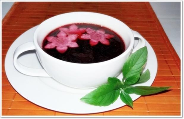 Pikante Rote-Bete-Suppe auf Rindfleischbrühe - Rezept - Bild Nr. 303