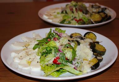 Gebackener Zucchini mit zweierlei Käse - Rezept - Bild Nr. 316