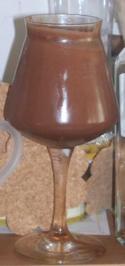 Schokoladen-Weißbier-Creme - Rezept