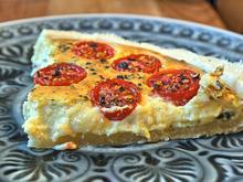 Ziegenkäse-Tomaten-Tarte - Rezept - Bild Nr. 317