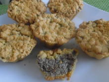 Mohn-Quark-Muffins mit Streusel - Rezept - Bild Nr. 322