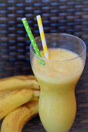 Getränk: Bananen-Kurkuma-Shake - Rezept