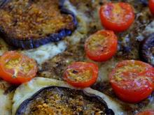 Auberginen-Pesto-Pizza - Rezept