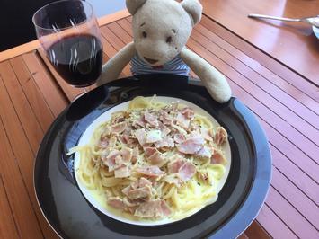 Spaghetti Carbonara a la Ari - Rezept
