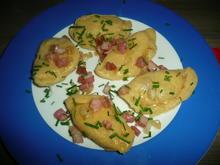Piroggen gefüllt mit Sauerkraut + Speck. - Rezept - Bild Nr. 348