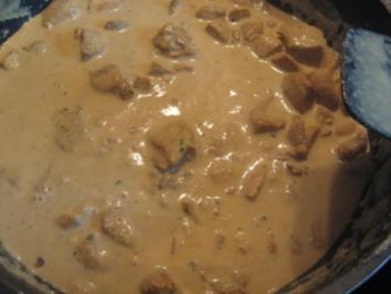 Hähnchen mit Currysauce - Rezept