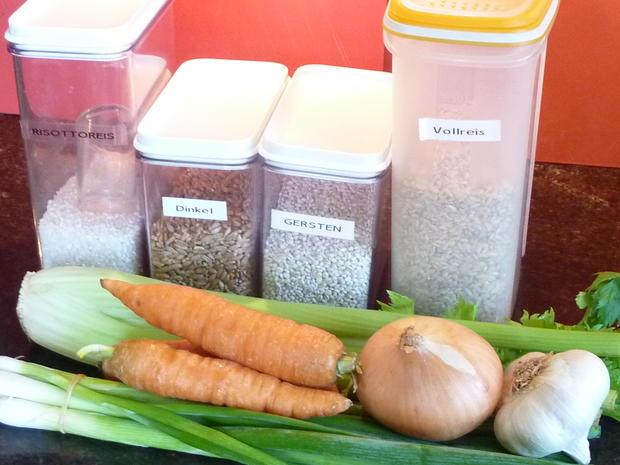 Getreide Risotto mit Gemüse - Rezept - Bild Nr. 357