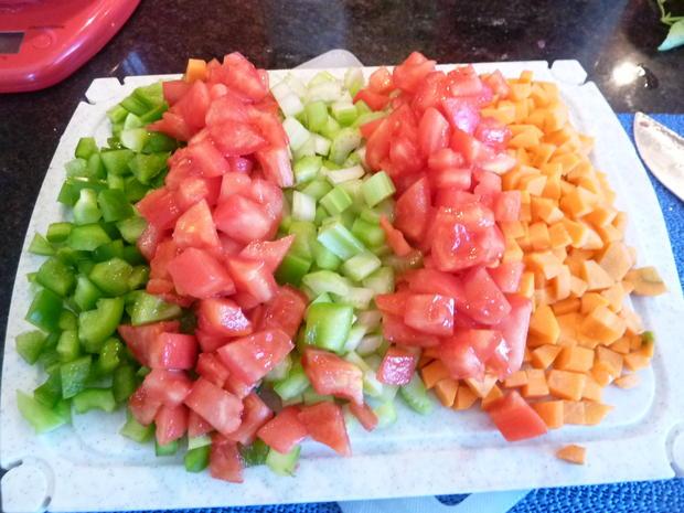 Getreide Risotto mit Gemüse - Rezept - Bild Nr. 359