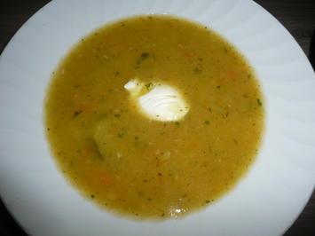Zucchini Süppchen als Vorspeise oder zum Vorrat. - Rezept - Bild Nr. 358