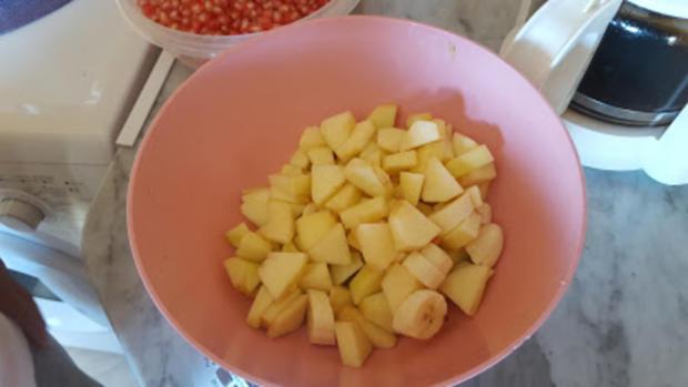 Rafika's  Granadapfel-Apfel-Bananen-Wunder - Rezept - Bild Nr. 358