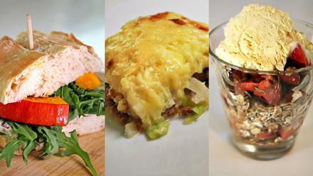 Blitz-Herbstrezepte: Kürbissandwich, Wirsing-Pie und Pflaumen-Müsli-Dessert - Rezept - Bild Nr. 364