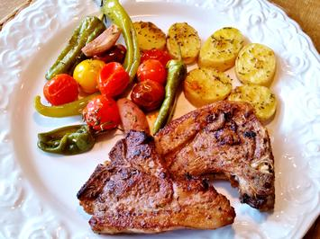 Buntes Grillgemüse und Rosmarin-Kartoffeln ... - Rezept - Bild Nr. 363