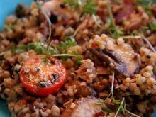 Gemüse-Getreide-Mix-Pfanne - Rezept