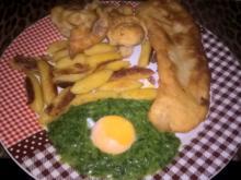 Backfisch im Bierteig - Rezept