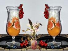 Chia- Cantaloupe Pudding/Jelly  mit Früchten verfeinert - Rezept - Bild Nr. 511