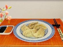 Chinesische Schnittlauch Dumplings mit selbstgemachter Thai  Chilisauce - Rezept - Bild Nr. 514