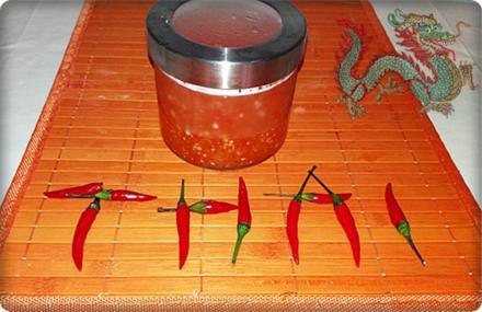 Selbstgemachte Thai Chilisauce - scharf  & süß - Rezept - Bild Nr. 514
