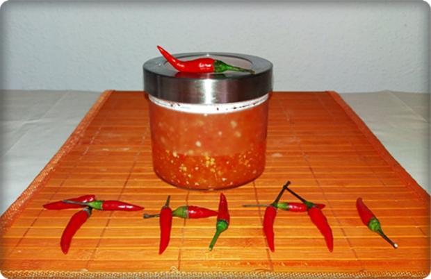 Selbstgemachte Thai Chilisauce - scharf  & süß - Rezept - Bild Nr. 524