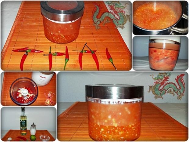 Selbstgemachte Thai Chilisauce - scharf  & süß - Rezept - Bild Nr. 525
