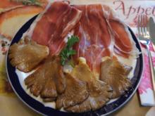 Austernpilze mit Seranoschinken - Rezept - Bild Nr. 532