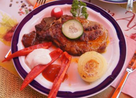 Grill-Kotelett mit Beilagen - Rezept - Bild Nr. 526