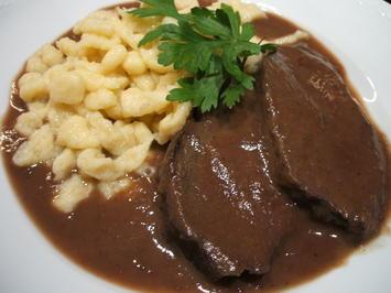 Fleisch: Herbstlich-fruchtiger Burgunderbraten - Rezept - Bild Nr. 561