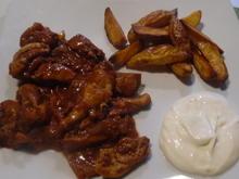 Mexikanisches Hühnchen in scharfer Schoko-Chili-Sauce (Mole) - Rezept - Bild Nr. 561