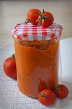 Tomaten-Soße mit dem Thermomix; Grundrezept - Rezept - Bild Nr. 566