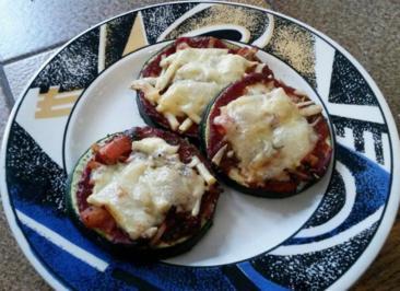 Zucchini Pizza  - Rezept - Bild Nr. 562