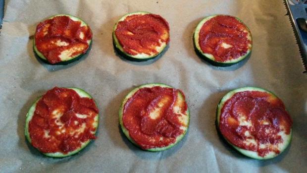 Zucchini Pizza  - Rezept - Bild Nr. 564