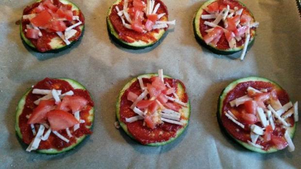 Zucchini Pizza  - Rezept - Bild Nr. 565
