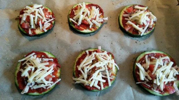 Zucchini Pizza  - Rezept - Bild Nr. 566