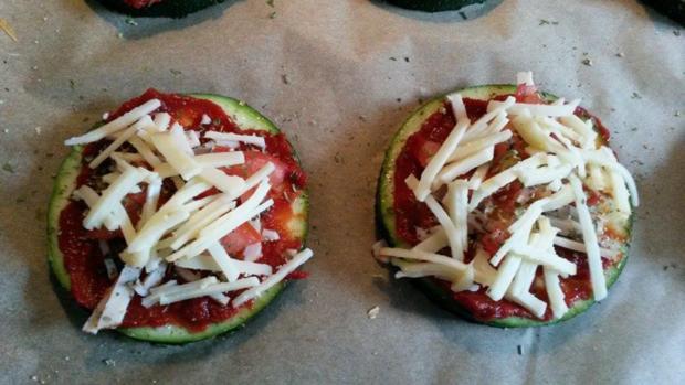 Zucchini Pizza  - Rezept - Bild Nr. 567