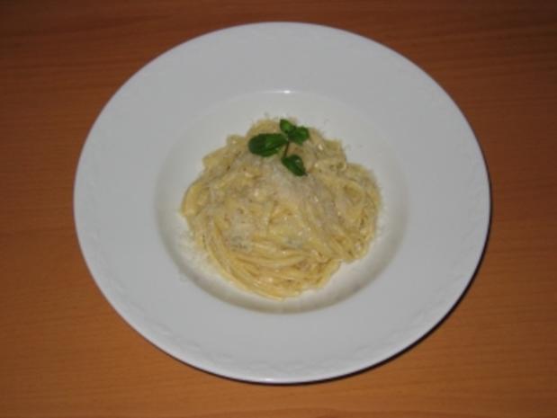 Bavette mit Gorgonzolasauce - Rezept