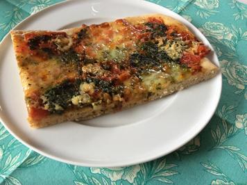 Käse-Spinat-Pizza - Rezept - Bild Nr. 563