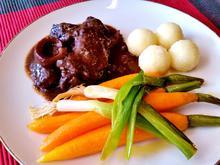 Zarte Karotten mit jungen Lauchzwiebeln - Rezept - Bild Nr. 563
