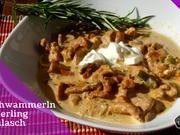 Pfifferling Gulasch - ein Spätsommer Pilz Rezept, schnell lecker DIY - Rezept - Bild Nr. 565