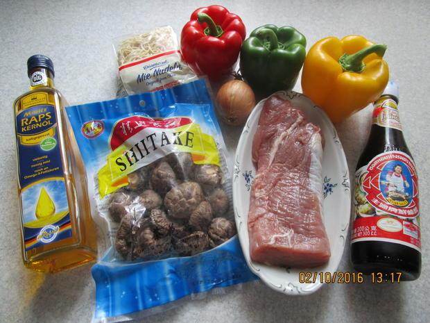 Schweinefleisch mit Paprika - Rezept - Bild Nr. 579