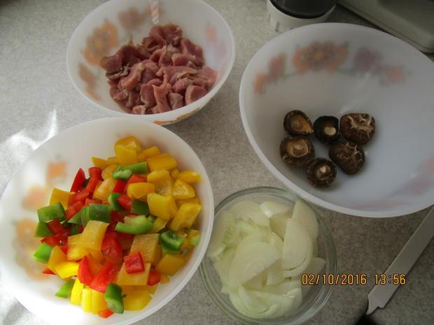 Schweinefleisch mit Paprika - Rezept - Bild Nr. 580