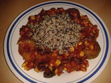 Chili con verduras - Gemüse-Chili aus dem Ofen - vegan - Rezept - Bild Nr. 596