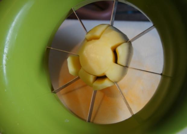 Brägenwurst mit Möhren-Brokkoli-Gemüse und Kartoffelpilzen - Rezept - Bild Nr. 612